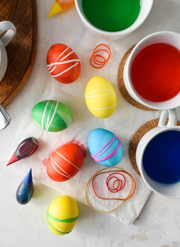 easter egg decorating elastics