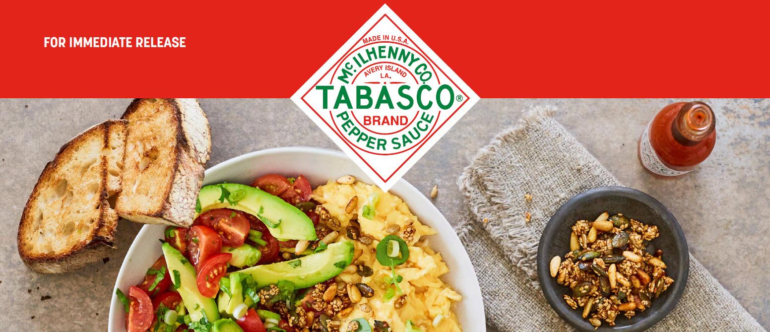 Tabasco on Eggs