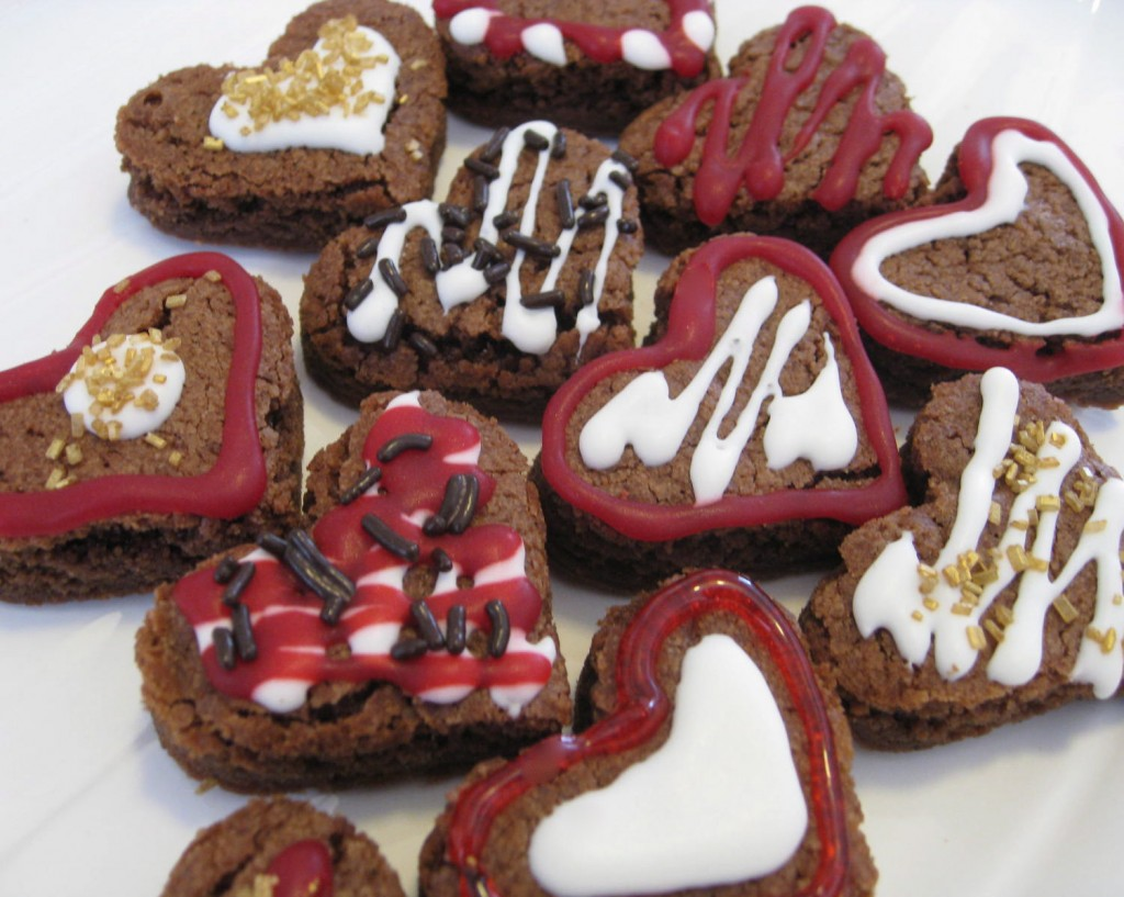 Valentines Day Brownies