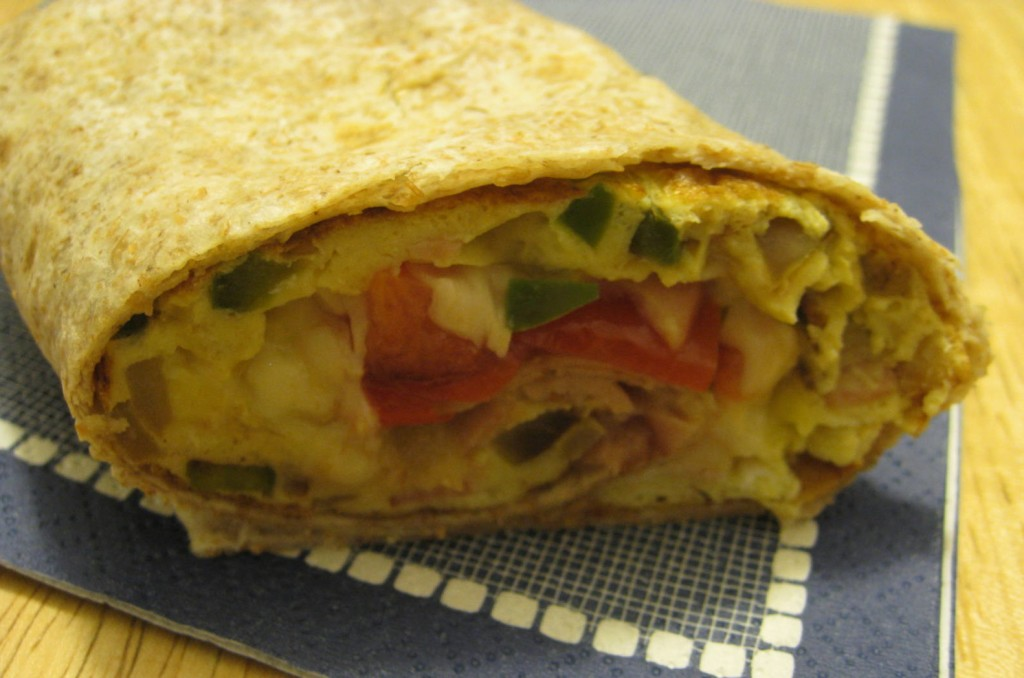 Breakfast Ham & Cheese Wrap